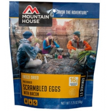 Pre-Cooked Eggs with Bacon by Mountain House