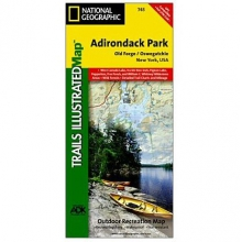 Adirondack Park - Old Forge, Oswegatchie Trail Map in State College, PA