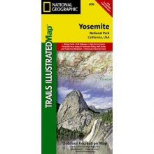 Trails Illustrated Map  - Yosemite NP in Solana Beach, CA