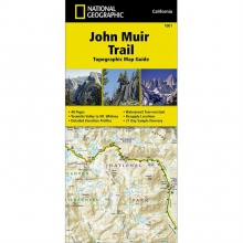 John Muir Trail: Topographic Map Guide by National Geographic: Trails Illustrated