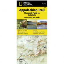 Appalachian Trail-Pleasant Pond to Katahdin Map -