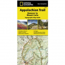 Appalachian Trail-Hanover to Mount Carlo Map -
