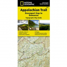 Appalachian Trail-Davenport Gap to Damascus Map -
