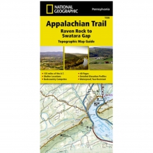 Appalachian Trail-Raven Rock to Swatara Gap Map -