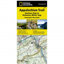 Appalachian Trail-Swatara Gap to Delaware Water Gap Map -
