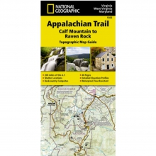 Appalachian Trail-Calf Mountain to Raven Rock Map -