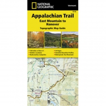 Appalachian Trail-East Mountain to Hanover Map -