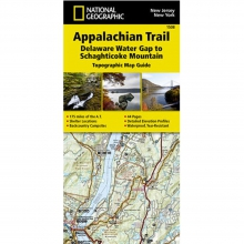 Appalachian Trail-Delaware Water Gap to Schaghticoke Mountain Map -