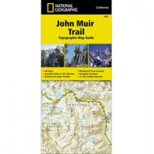 John Muir Trail Map & Guide CA - Map in Solana Beach, CA