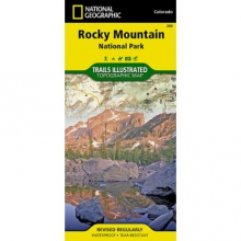 Trails Illustrated Map  - Rocky Mountain NP in San Marcos, TX