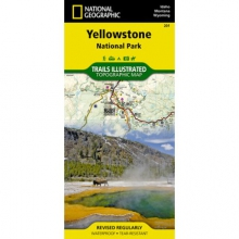 Trails Illustrated Map  - Yellowstone NP by National Geographic: Trails Illustrated