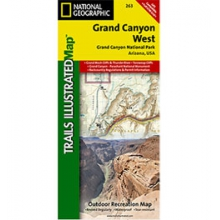 Trails Illustrated - Grand Canyon West Map - AZ - Map in Kirkwood, MO