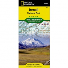 Denali National Park and Preserve Trail Map - by National Geographic: Trails Illustrated
