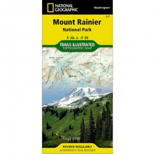 Mount Ranier National Park Map - by National Geographic: Trails Illustrated