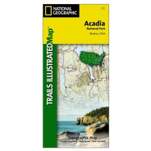 Acadia National Park by National Geographic: Trails Illustrated