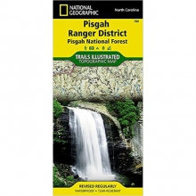 Pisgah Ranger District-Pisgah National Forest Map - by National Geographic: Trails Illustrated