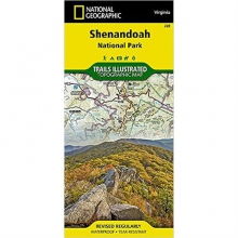 Trails Illustrated Map: Shenandoah National Park