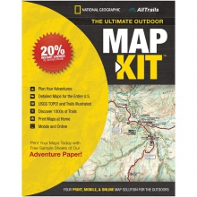 Ultimate Outdoor Map Kit by National Geographic: Trails Illustrated