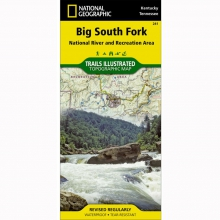 Big South Fork National Recreation Map - by National Geographic: Trails Illustrated