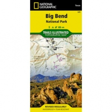 Trails Illustrated Map  - Big Bend NP by National Geographic: Trails Illustrated