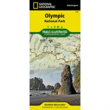 Trails Illustrated Map  - Olympic NP in Peninsula, OH