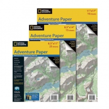 Adventure Paper by National Geographic: Trails Illustrated