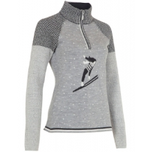 Flora Zip Neck Sweater - Women's by Neve Designs