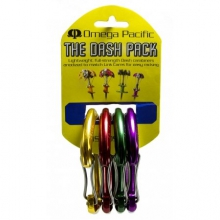 Dash Wiregate 4-Color Carabiner Cam Pack by Omega Pacific