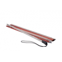 240 Econonmic Probe Silver/Red 240cm