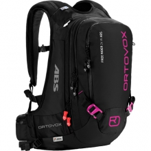 Free Rider 24 ABS Ready Backpack - Women's: Black/Anthracite/Pink