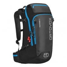 Tour Rider 30 Ski/Board Backpack: Black/Anthracite