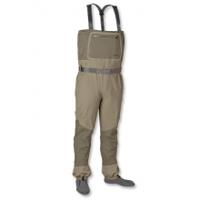 Silver Sonic Convertible Top Waders by Orvis in Bozeman MT