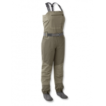 Women's Silver Sonic Convertible-Top Waders by Orvis in Bozeman MT
