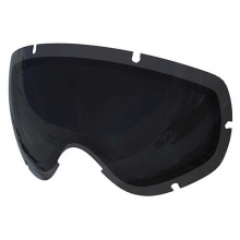 Lobes All Black Goggles: Black/Black
