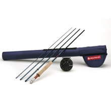 Crosswater Fly Fishing Outfit - BLUE,586-4 by Redington
