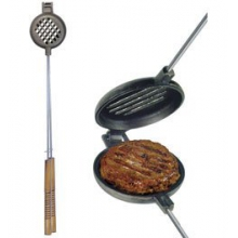 Wilderness Hamburger Griller - Cast Iron by Rome