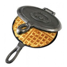 Old Fashioned Waffle Iron - Cast Iron by Rome