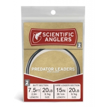 Predator AR Tapered Leader - 2 Pack by Scientific Anglers