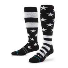 Men's Stars and Bars Ski Socks