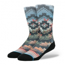 Men's Poblano Crew Socks L/XL by Stance