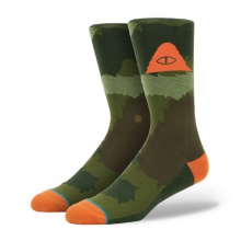 Men's Furry Camo Socks L/XL by Stance