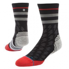 Bolt Crew Socks Men's, Black, M by Stance