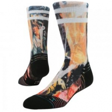 Galactic Mash Running Sock Men's, Multi Color, L by Stance