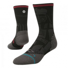 Sith Running Sock Men's, Black, L by Stance