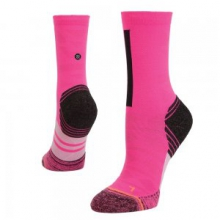 Revolt Running Sock Women's, Pink, M by Stance
