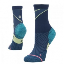 Popideau Crew Sock Women's, Blue, M by Stance