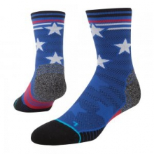 Reply Crew Running Sock Men's, Blue, L by Stance