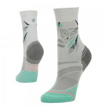 Fleshman Crew Running Sock Women's, Grey, M by Stance
