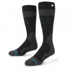 Rival Snowboard Sock Men's, Black, L by Stance