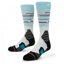 Lone Peak Snowboard Sock Women's, Light Blue, M by Stance